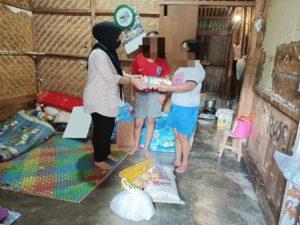 Peduli Dampak Covid-19 Dan HANI 2020, BNNK Tana Toraja Bagi Sembako