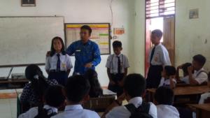 Kampanye Stop Narkoba dari SMPN 1 Sanggalangi'