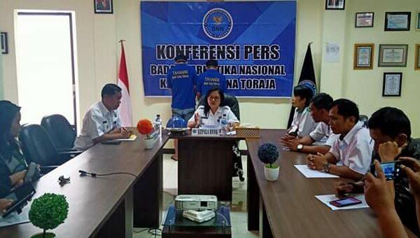 BNNK Tana Toraja Press Release : Kinerja BNNK Tana Toraja