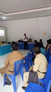 BNNK Tana Toraja terlibat dalam kegiatan Lokakarya Mini Lintas Sektor Upt Puskesmas Tallunglipu