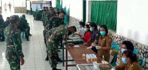 BNNK Tana Toraja Mengadakan Sosialisasi dan Tes Urine Terhadap Prajurit KOdim 1414 Tana Toraja
