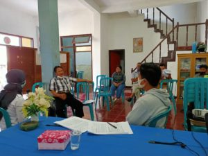 Rakor PBM di Kelurahan Tondon Mamullu