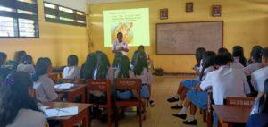 SMA Pelita Harapan Rantepao Mendapat Kunjungan Dari BNNK Tana Toraja