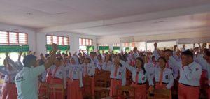 Kampanye Stop Narkoba dari SMA 2 Rantepao